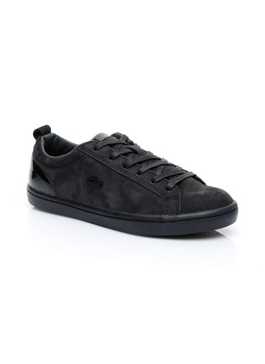 Lacoste Kadın Straightset 318 Sneakers 736CAW0037.02H Siyah